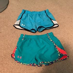 Girls under armour shorts